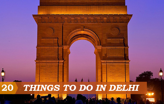 20 Things to do in Delhi